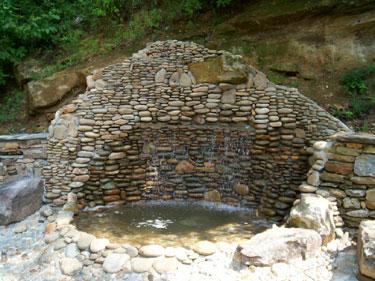 Atlanta Ga Riverrock Water Wall